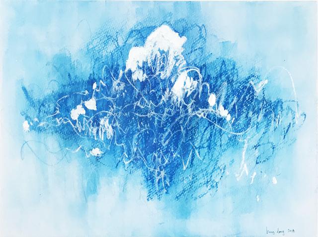 , 'Blue Scratches,' 2018, Jen Mauldin Gallery