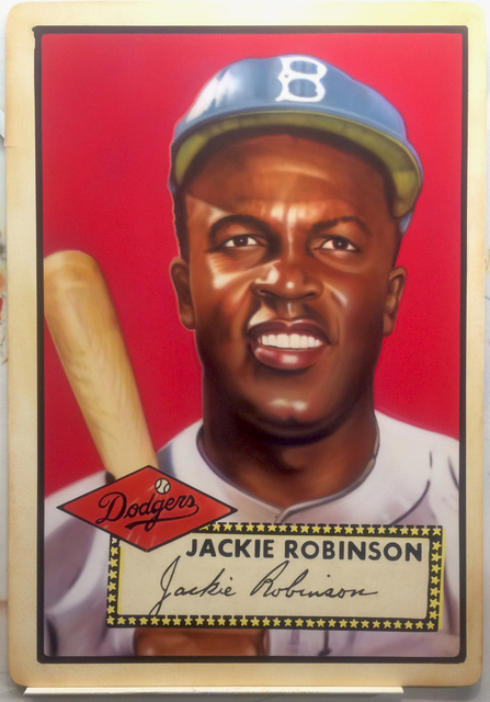 , '1952 Topps -  Jackie Robinson,' 2017, Axiom Contemporary