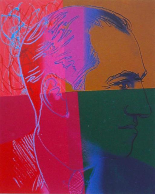 Andy Warhol, 'George Gershwin', 1980, Kunzt Gallery