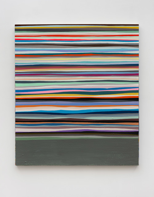 Wang Guangle, 'Coffin Paint 191231', 2019, Painting, Acrylic on canvas, Beijing Commune