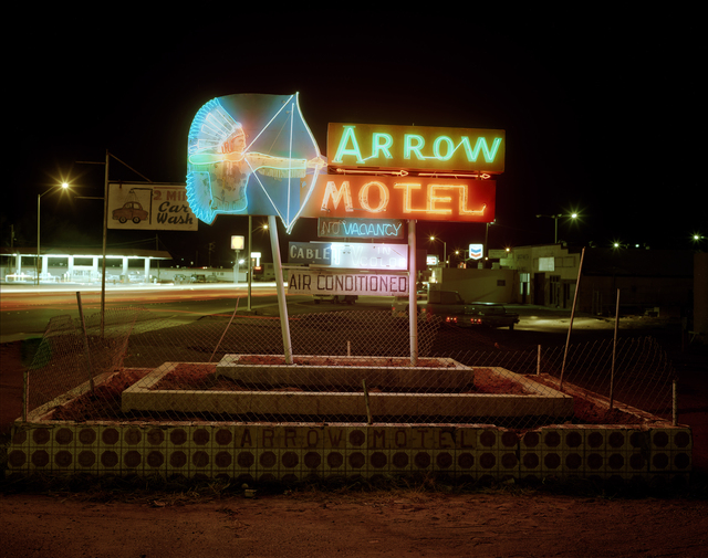, 'Arrow Motel, Highway 84, Espanola NM,' 1982, Kopeikin Gallery