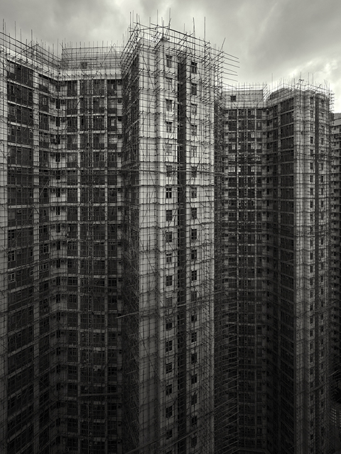, 'Bamboo Cage, Chai Wan, Hong Kong - 2009,' 2009, Contemporary by Angela Li