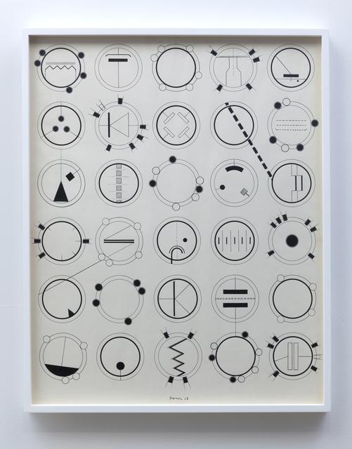 , 'Bild-1967 Zeichnung A,' 1967, bitforms gallery