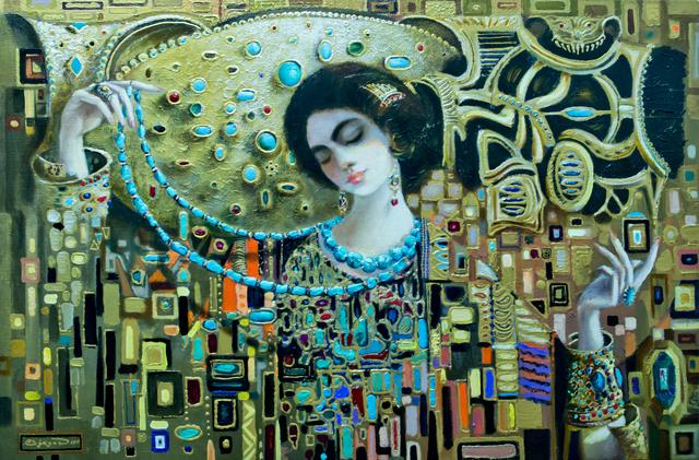 , 'The Turquoise,' 2017, Janet Rady Fine Art