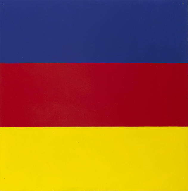 , ' Untitled / Series with red and blue as recurring colours,' 1965, Galleri Bo Bjerggaard