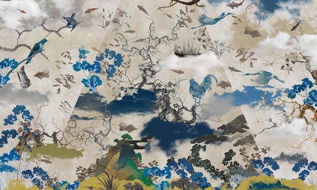 Guang-Yu Zhang, 'Fairyland II', 2017, A.Style