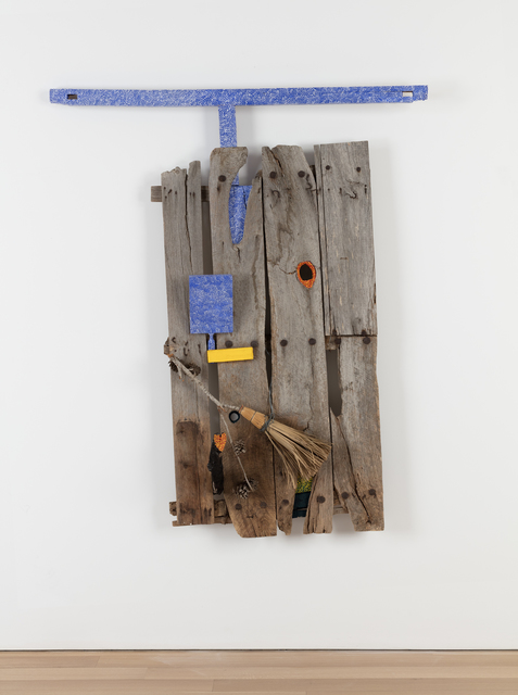 , 'Toledo's Prison Door - Juan de la Cruz,' 1991, Alexander and Bonin