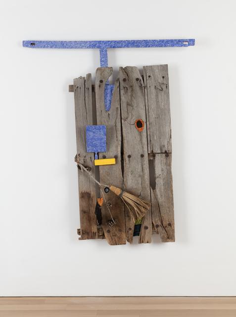 Michael Buthe, 'Toledo's Prison Door - Juan de la Cruz', 1991, Alexander and Bonin