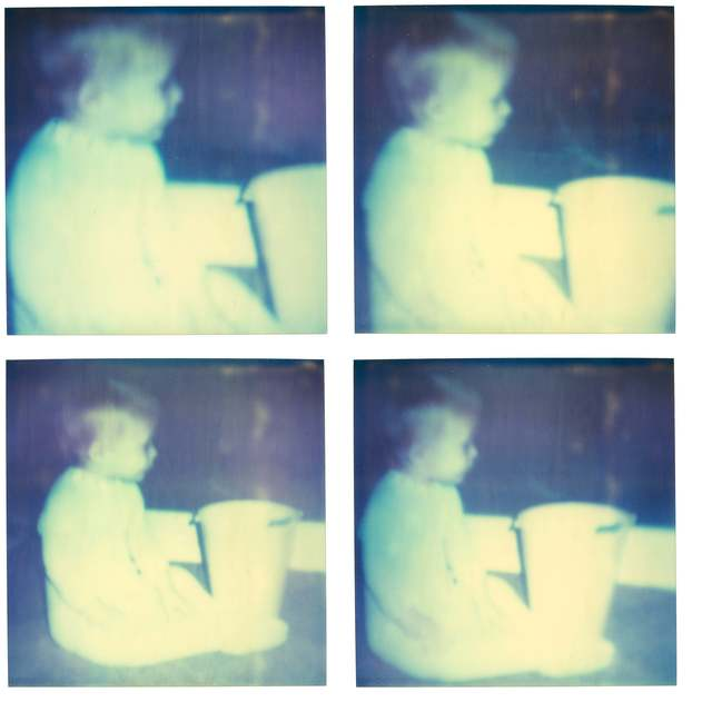 Stefanie Schneider, 'White Plastic Bucket (Stay), from Ryan Gosling's memory sequence', 2006, Photography, Digital C-Print based on a Polaroid, not mounted, Instantdreams