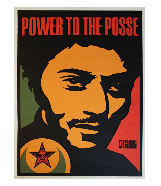 Shepard Fairey, 'Nubian Power to the Posse', 1998, EHC Fine Art