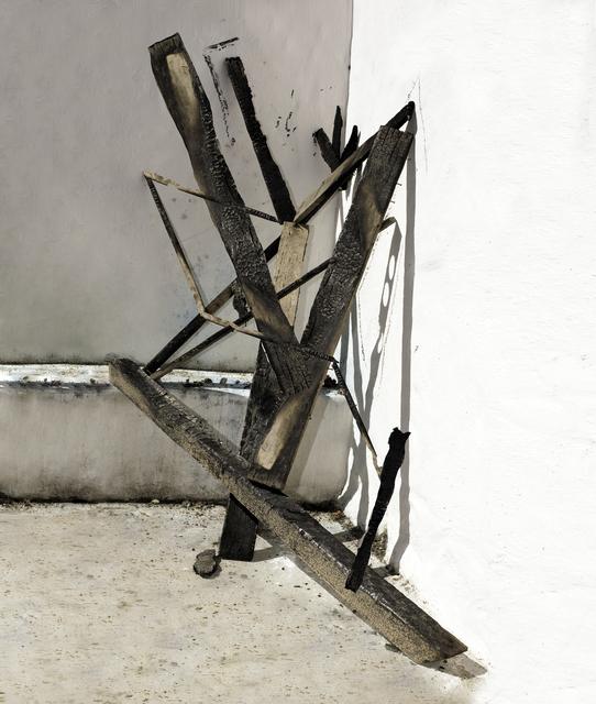 , 'Sculpture Study with Burnt Wood,' 2016, Beetles + Huxley