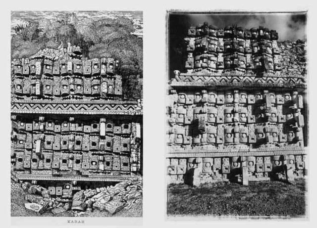 , 'Kabah, after Catherwood [Temple of the Masks, partial view], (Kabah, a la manera de Catherwood) [Templo de las Máscaras, vista parcial] ,' 1985, Henrique Faria Fine Art