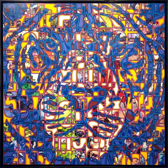 , 'Moon Tiger,' 2017, Galerie Art Jingle