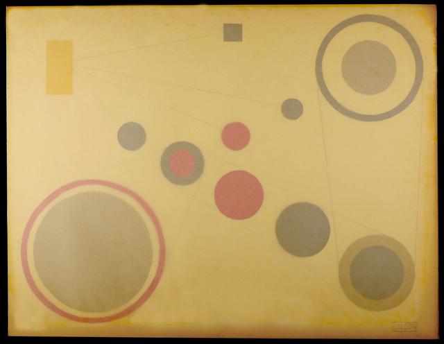 , 'Untitled (Composicion Concreta),' 1954, AREVALO
