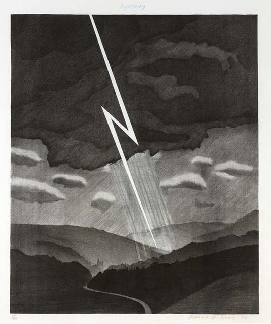 , 'Lightning,' 1973, Osborne Samuel