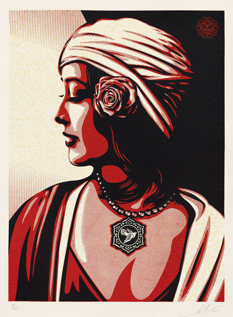 Shepard Fairey (OBEY), 'Harmony', 2012, Pace Prints