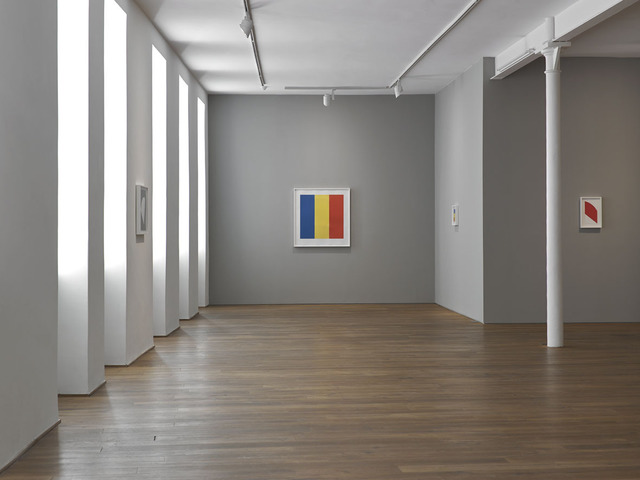 , 'Installation view of the exhibition 'Ellsworth Kelly: Twelve colour prints from the artist's own collection', Ingleby Gallery, Edinburgh (January - February 2014),' , Ingleby Gallery