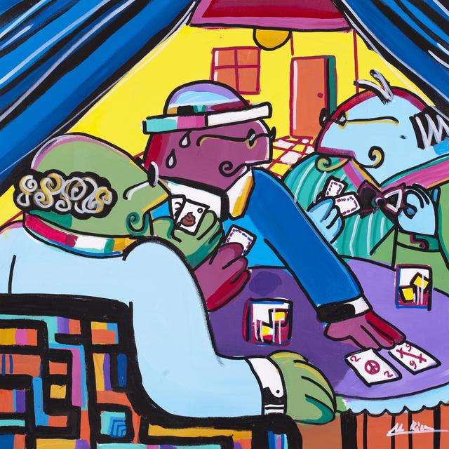 , 'Blackjack  ,' 2013, Blue Gallery