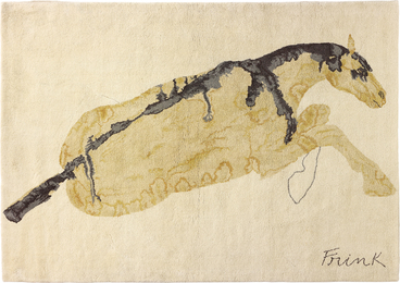 Elisabeth Frink, 'Reclining Horse,' 1975, Phillips: Evening and Day Editions