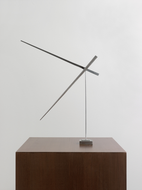 , 'One Up One Down Oblique, Var. III,' 1975, Ludorff