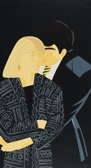 Alex Katz, 'Vicky Hudspith and Wally Tuberville', 1993-1994, Evelyn Aimis Fine Art