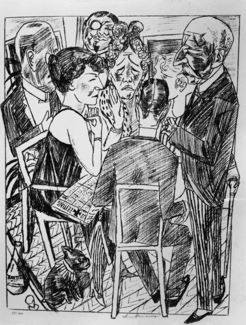 Max Beckmann, 'The Disillusioned I', 1922, ARS/Art Resource