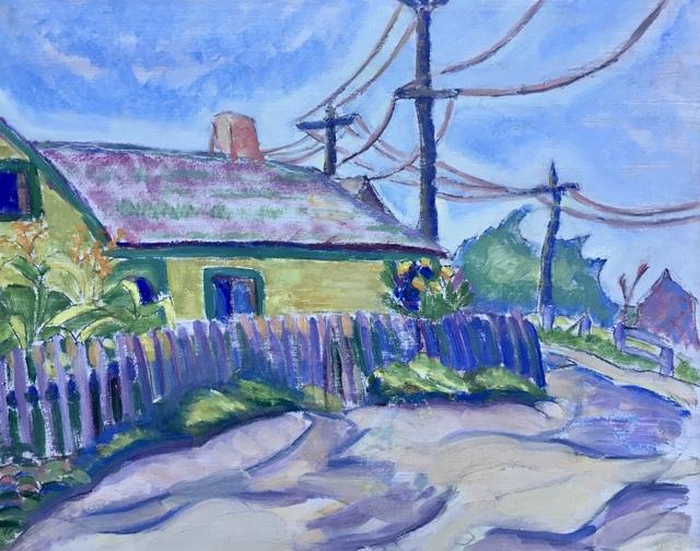 Jane Jarvis Mumford, 'Backyard Garden', 1915, Bakker Gallery