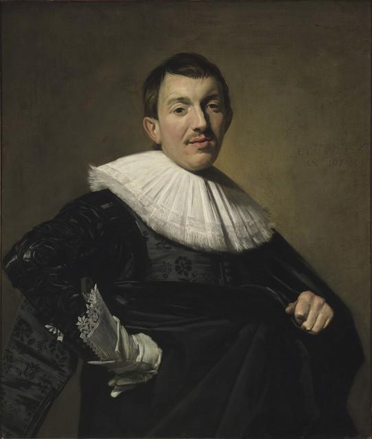 , 'Portrait of a man,' 1582-1583, Musée du Luxembourg