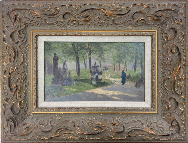 FREDERIC MARLETT BELL-SMITH, 'Afternoon Walk', 1891, Broadway fine Art