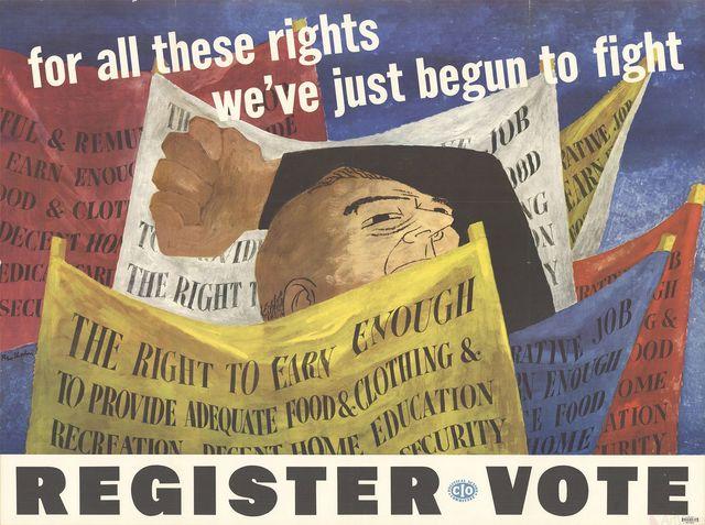 , 'Register to Vote,' 1946, ArtWise