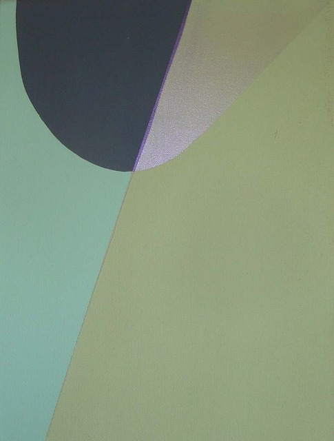 , 'green between,' 2011, Herringer Kiss Gallery