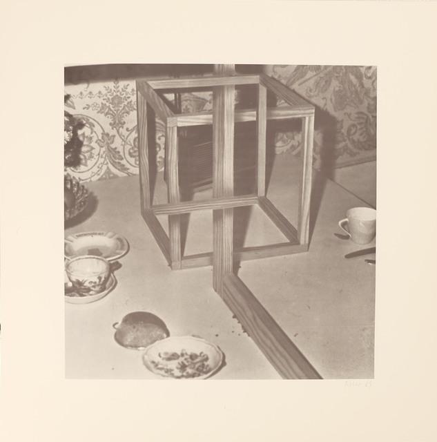 , 'Blatt c aus der Edition: 9 Objekte ,' 1969, Galerie Brigitte Schenk