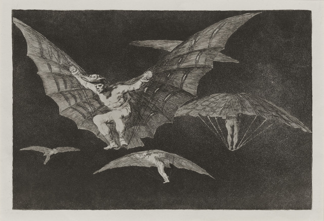 , 'Modo de volar [A Way of Flying],' 1816-1819, Blanton Museum of Art