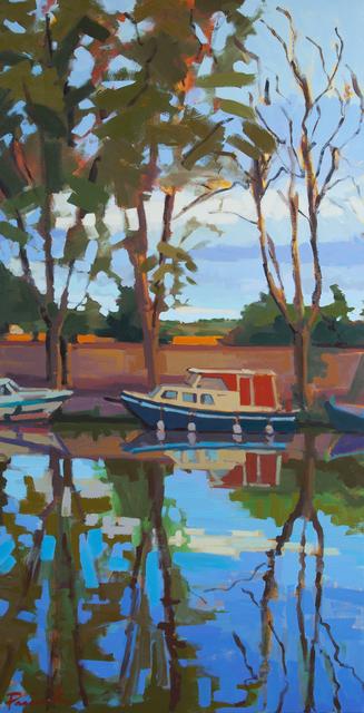 , 'Homps Reflective Canal,' , ArtProv Gallery