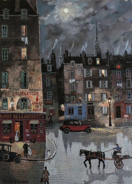 , 'Clair de lune, Blvd du Palais,' , Hugo Galerie