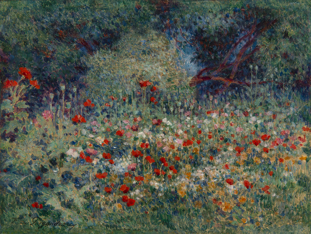 Ferdinand du Puigaudeau, 'Les coquelicots', Unknown, HELENE BAILLY GALLERY
