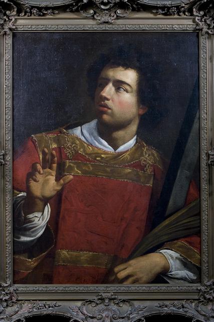 "School of Michelangelo Merisi dit ""Caravaggio"", 'Saint Lawrence. School of Michelangelo Merisi dit ""Caravaggio""', ca. 1600, Muzeion Gallery"