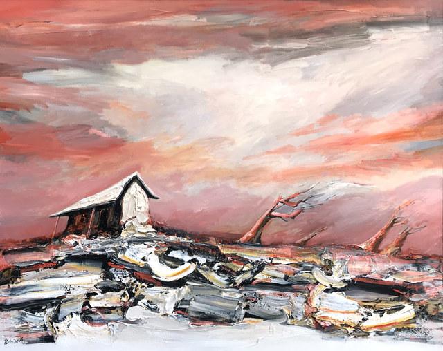 Palla Jeroff, 'The Artist's Shack', 2019, Wentworth Galleries