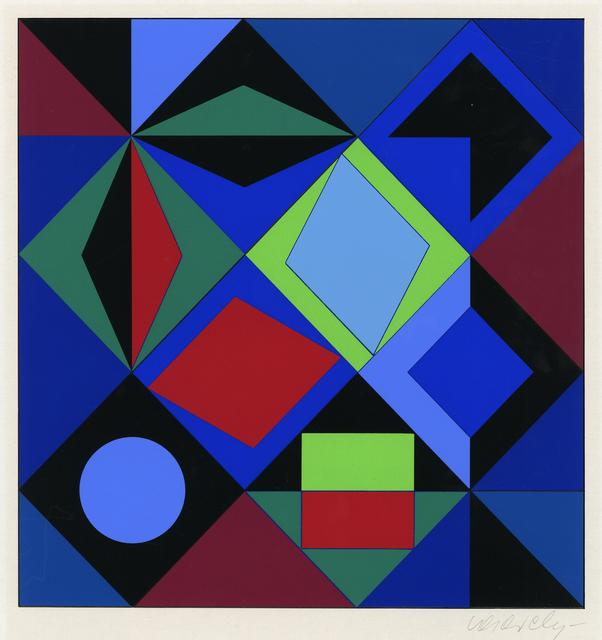 , 'Sikra-MC,' 1968, Thomas French Fine Art