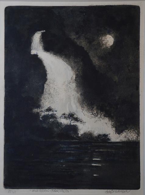 , 'Full Moon over Falls,' 2018, The Galleries at Salmagundi