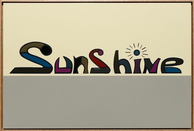 , 'Sunshine ,' 2013, Gallery Side 2