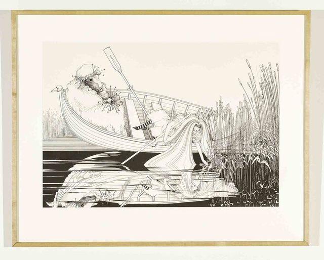 Ralph Steadman, 'Alice Pulling Reeds ', 1967, Gonzo Gallery