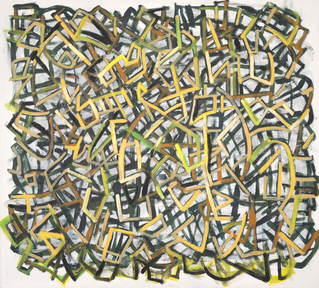 , 'Yellow vs Siena,' 2016, Carter Burden Gallery