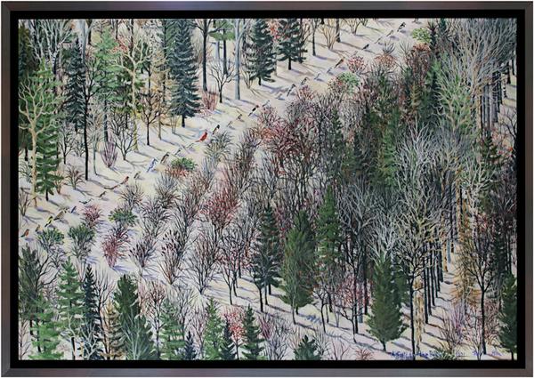 , 'A Field For the Birds,' 1991, David Barnett Gallery