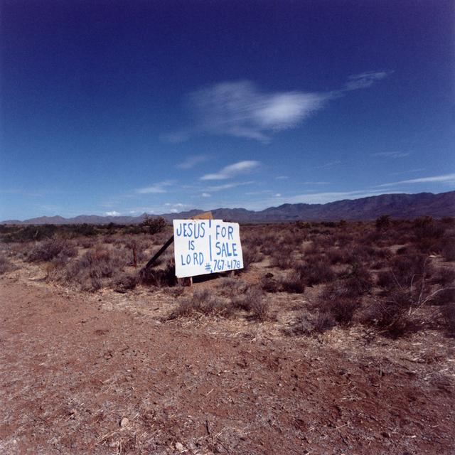Daniel Mirer, 'Jesus is Lord, Nevada', 2007, ElliottHalls