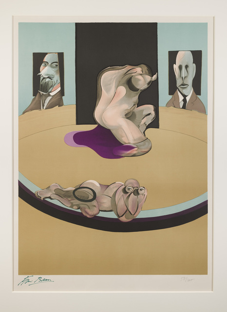 , 'Metropolitan Museum 1975 Lithograph, edition of 200, 160 x 112 cm,' 1975, Marlborough London