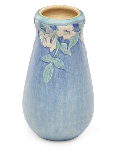Anna Frances Simpson, 'Small vase with trumpet flowers', 1921, Rago
