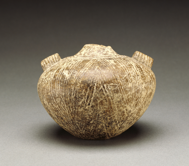 'Bottle of the Kampos Style', 2800 BCE-2700 B.C., J. Paul Getty Museum