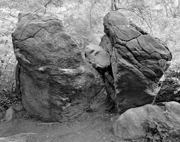 Split Rock, The Rambles, Central Park, new York
