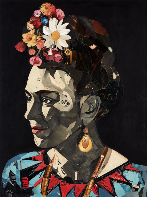 , 'Frida Kahlo, la noche II,' 2019, GALERIA JORDI BARNADAS